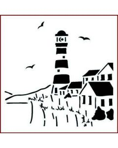 Imagination Crafts Stencil 6x6 - Lighthouse