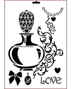 Imagination Crafts A4 Art Stencil - Scent