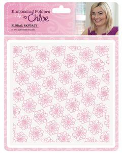 Stamps by Chloe Embossing Folder - Floral Fantasy