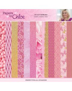 Stamps by Chloe 12 x 12 Paper Pad