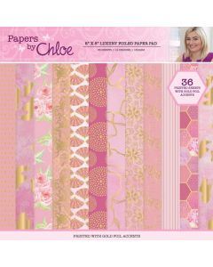 Stamps by Chloe 8 x 8 Luxury Foiled Paper Pad