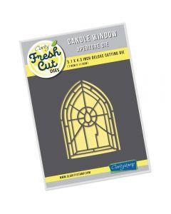 Claritystamp Fresh Cut Die Set - Candle Window