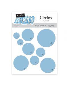 Claritystamp Acrylic Shapes - Circles
