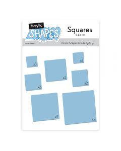 Claritystamp Acrylic Shapes - Squares