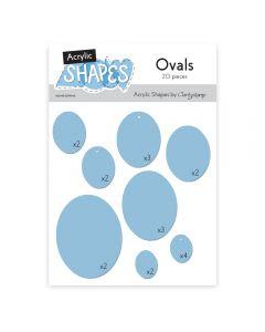 Claritystamp Acrylic Shapes - Ovals