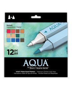 Aqua by Spectrum Noir 12 Pen Set - Nature