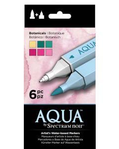 Aqua by Spectrum Noir 6 Pen Set – Botanicals