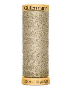 Gutermann 2T100C1017 Natural Cotton Thread- 100m