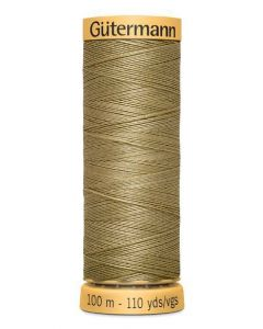 Gutermann 2T100C1026 Natural Cotton Thread- 100m