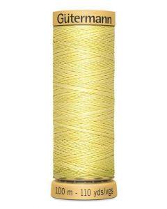 Gutermann 2T100C349 Natural Cotton Thread- 100m