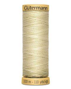 Gutermann 2T100C0828 Natural Cotton Thread- 100m