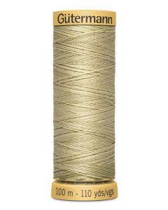 Gutermann 2T100C0928 Natural Cotton Thread- 100m