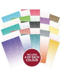 Hunkydory Adorable Scorable - Glitter Ombre Limited Edition 100-sheet Megabuy