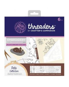 Threaders Embroidery Transfer Sheets - Pets
