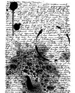 Sheena Douglass A Little Bit Sketchy A6 Stamp - Very Vintage