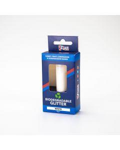 Stix 2 Biodegradable Glitter 8g tube - White