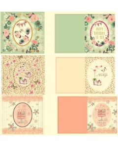 Crafter's Companion Dome Cards Kit - Birthday Blossoms