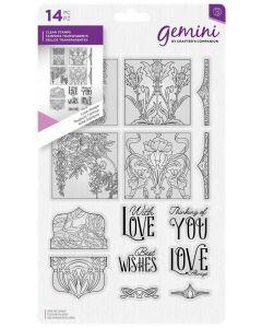 Gemini Dimensionals A5 Clear Stamp - Love Always