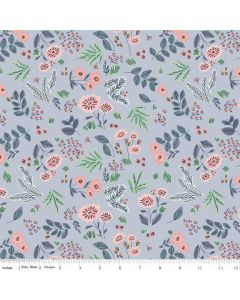 Riley Blake Edie Jane fabric - Floral Blue