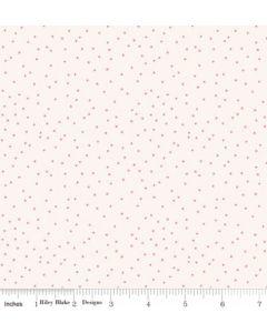 Riley Blake Edie Jane fabric - Dot Cream