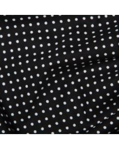 Rose and Hubble 100% Cotton Poplin - Black