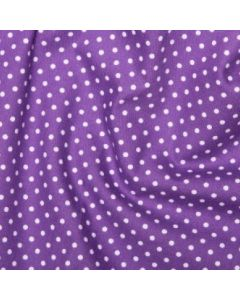 Rose and Hubble 100% Cotton Poplin - Purple
