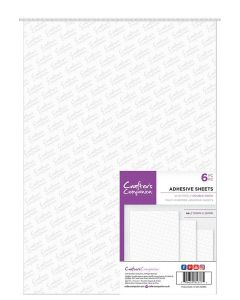 Crafter's Companion Double Sided Adhesive Sheets - A4 Size (6PC)