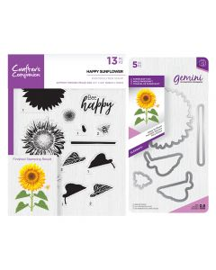 Gemini Layering Dies and Stamps - Happy Sunflower Collection
