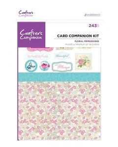 Crafter's Companion Card Companion Kits - Floral Impressions