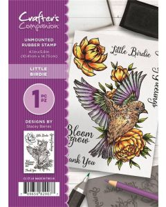 Crafter's Companion A6 Rubber Stamp - Little Birdie