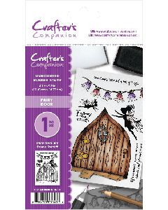Crafter's Companion A6 Rubber Stamp - Fairy Door