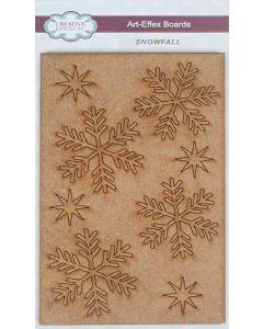 Creative Expressions Art-Effex MDF Boards - Snowfall
