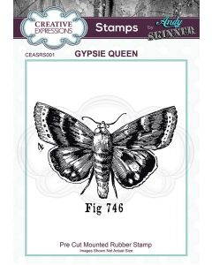 Creative Expressions Rubber Stamp by Andy Skinner - Gypsie Queen