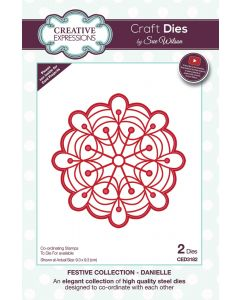Creative Expressions Festive Collection Craft Die - Danielle