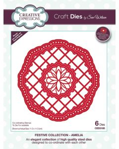 Creative Expressions Festive Collection Craft Die - Amelia