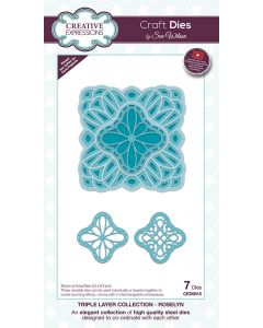 Craft Dies by Sue Wilson Triple Layer Collection - Roselyn