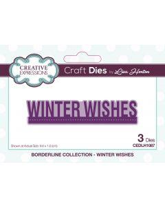 Creative Expressions Borderline Die Set - Winter Wishes