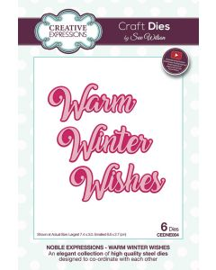 Creative Expressions Noble Expressions Craft Die -  Winter Wishes