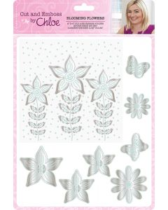 Cut and Emboss by Chloe – Blooming Flowers