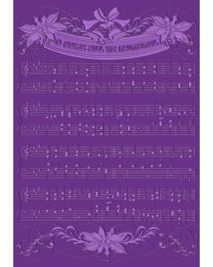 "Gemini 5"" x 7"" 3D Embossing Folder - Christmas Carol"