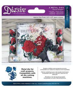 Die'sire Classiques Metal Die - Floral Delight