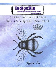 IndigoBlu Collectors Edition Mini Rubber Stamp No.26 - Queen Bee