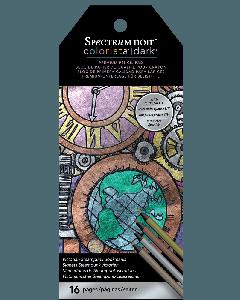 Spectrum Noir Colorista Dark Bookmark Pencil Pad - Victorian Steampunk
