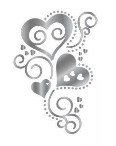 Gemini FOILPRESS Trailing Heart Foil Stamp Die Elements