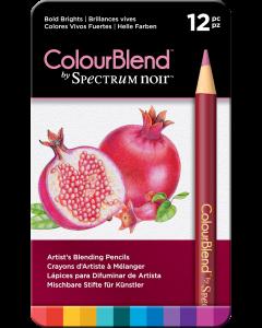 ColourBlend by Spectrum Noir 12 Pencil Set - Bold Brights