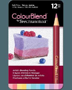 ColourBlend by Spectrum Noir 12 Pencil Set - Soft Tints