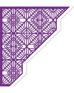 Gemini Create-a-Card Corner Tessellating Dies - Decadent Decor