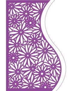 Gemini Create-a-Card Corner Tessellating Dies - Delightful Daisies