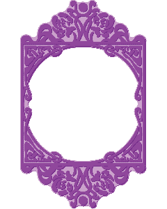 Gemini Shaped Cut and Emboss Folder - Normandy Frame
