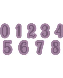 Gemini Expressions Metal Die - Numbers
